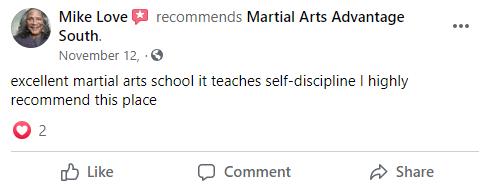 Adult 1 South, Martial Arts Advantage Tampa FL