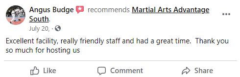 Adult 2 South, Martial Arts Advantage Tampa FL