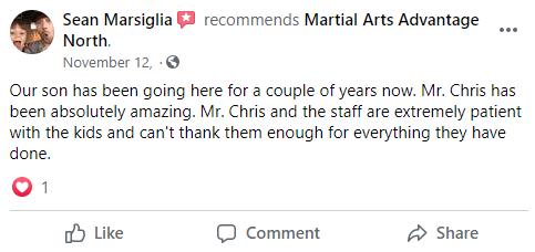 Kids 3 North, Martial Arts Advantage Tampa FL
