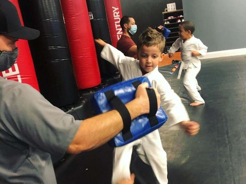 Kids Kickboxing in Tampa